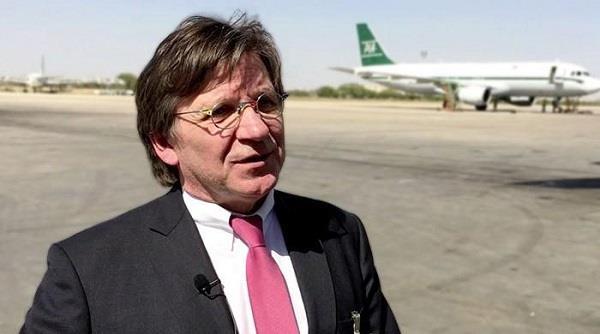 पाक ने जर्मन CEO की विदेश यात्रा पर लगाई रोक