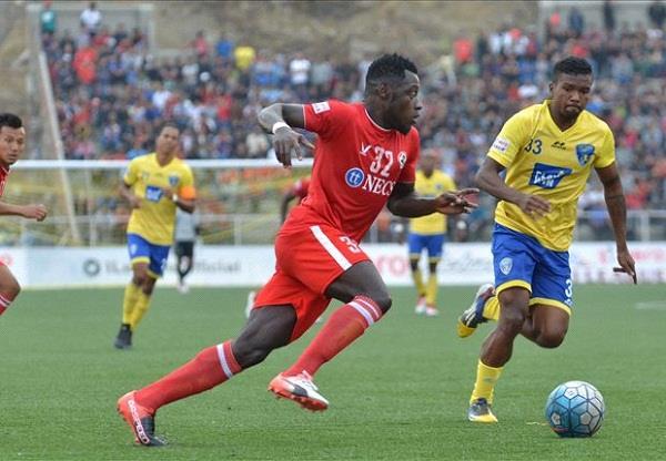फुटबॉल आई लीग: कमो के डबल से ऐजल ने मुम्बई को हराया