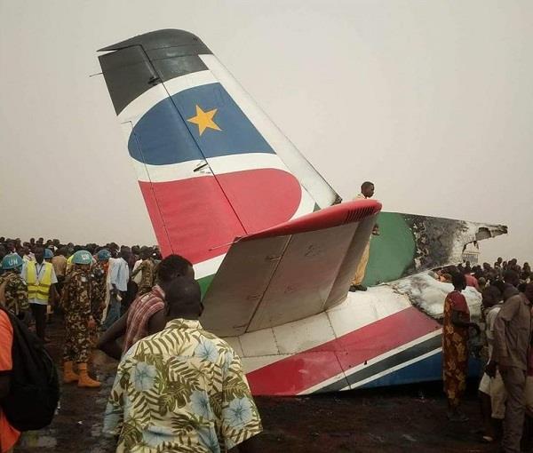 सूडान एयरपाेर्ट पर विमान दुर्घटनाग्रस्त, करीब 44 लाेग थे सवार