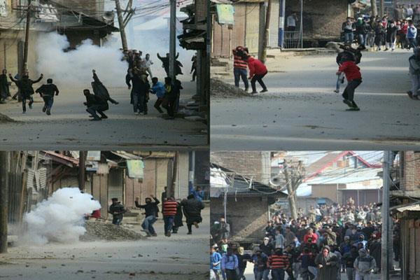 जुम्मे के बाद श्रीनगर में युवाओं ने जमकर बरसाए पत्थर, लगाए आजादी के नारे