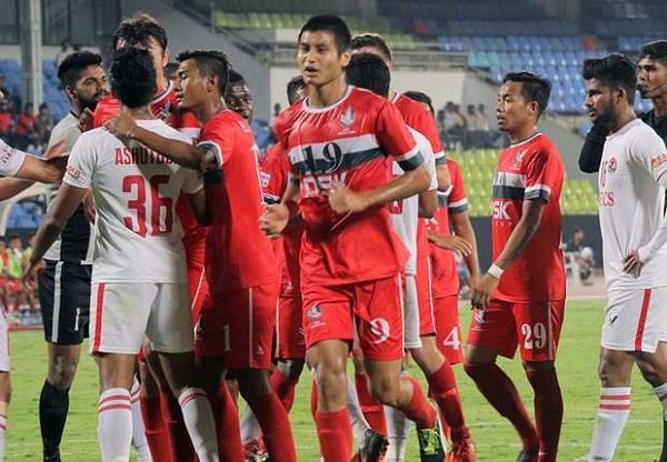 आईलीग फुटबाल: शिवाजियंस ने मुंबई FC को 5-0 से हराया