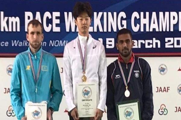 इरफान ने एशियाई पैदल चाल में जीता कांस्य पदक