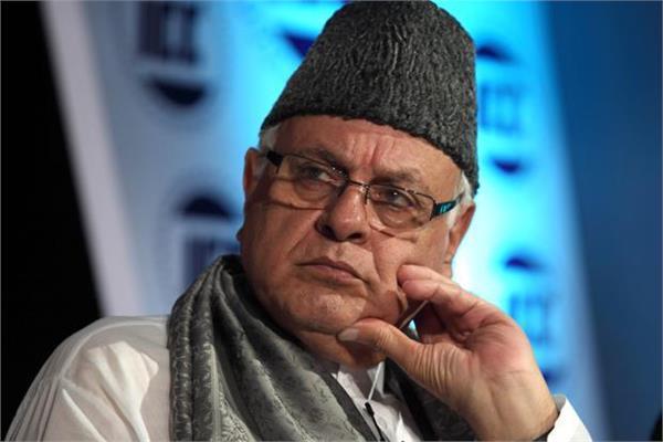 शांति के लिए भारत-पाक को आगे आना होगा : फारूक अब्दुल्ला