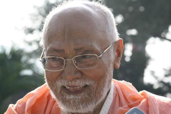 त्रिदंडी स्वामी श्रीमद् भक्ति वल्लभ तीर्थ गोस्वामी जी महाराज हुए भगवान श्री कृष्ण की नित्य लीला में प्रविष्ट