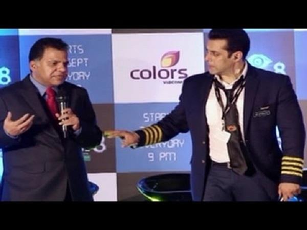 when salman khan had stopped listening to ajan voice press conference