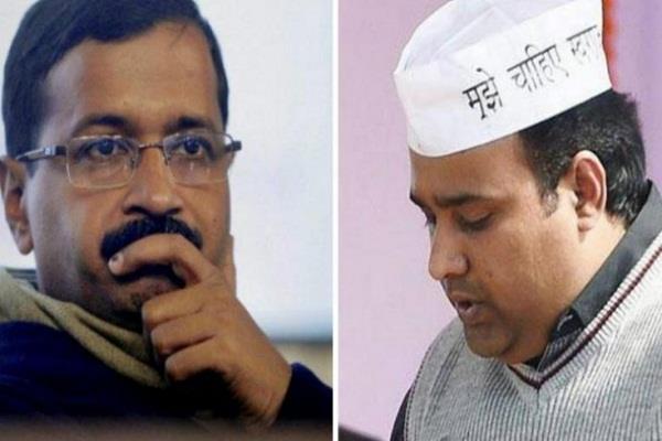 केजरीवाल को एक और झटका, सेक्स सीडी में फंसे पूर्व मंत्री ने किया BJP का प्रचार
