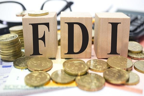 FDI के लिए  इम्पोर्टैंट डैस्टीनेशन बन रहा है भारत