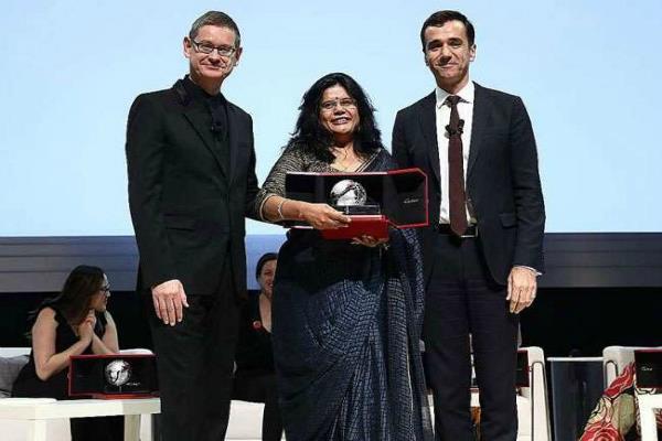 सिंगापुर में भारतीय महिला इंजीनियर सम्मानित