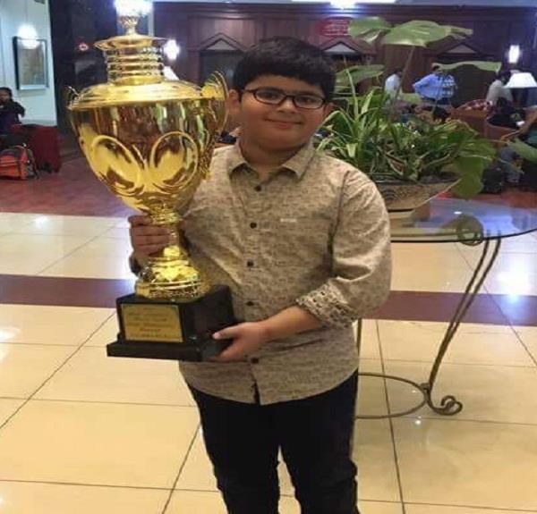 जालंधर का 10 वर्षीय तन्मय बना चैस का कैंडीडेट मास्टर