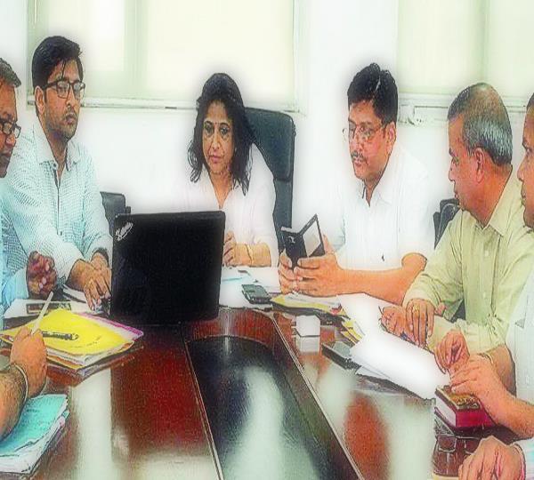 शहरी विकास मंत्रालय की डिप्टी वित्त सचिव ने किया भटिंडा का दौरा