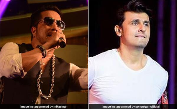 sonu nigam comment mika singh sub bollywood news creu