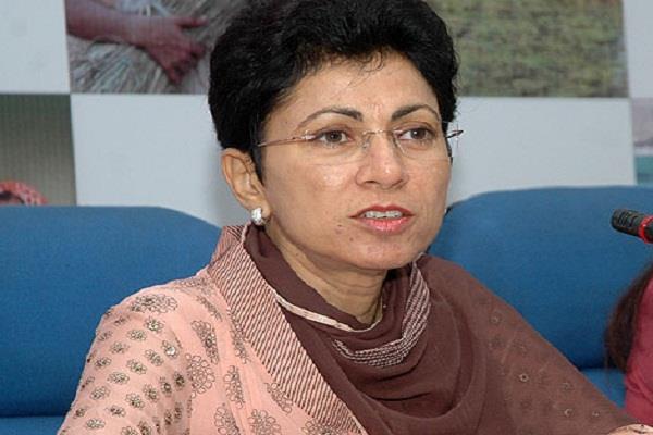 पी.यू. में फंडों की कमी को पूरा करना केंद्र सरकार की जिम्मेदारी:शैलजा