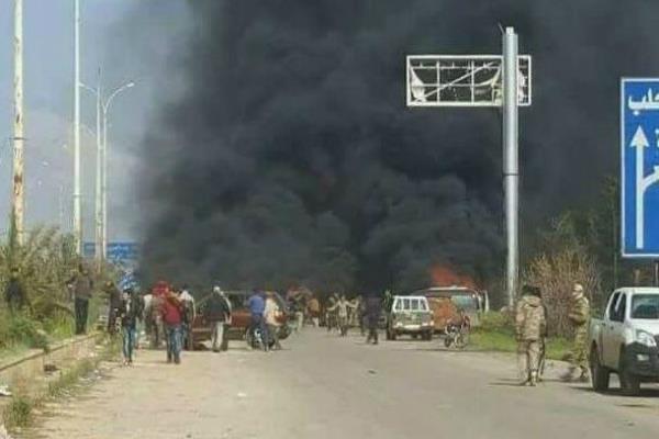 सीरिया में बसों के काफिले पर हमले में 112 लोगों की मौत(Pics)