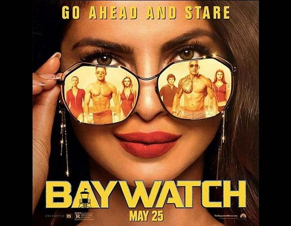 priyanka chopra film baywatch has released poster