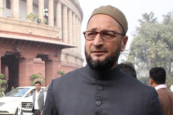 गांधीजी की हत्या से ज्यादा गंभीर है बाबरी मस्जिद ढहाने की घटना : आेवैसी