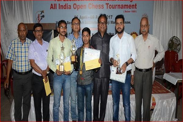 यूपी के अशोक ने जीता लखनऊ शतरंज टूर्नामेंट