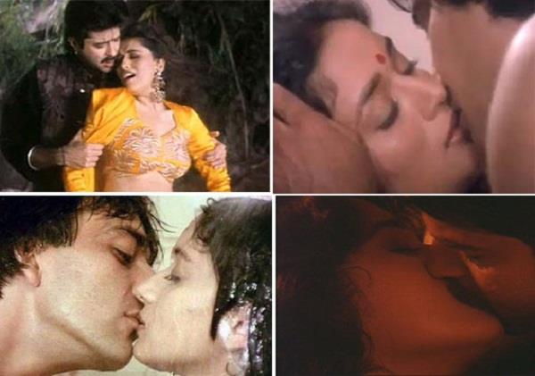 madhuri dixit was reprimanded by giving kiss 21 year old actor