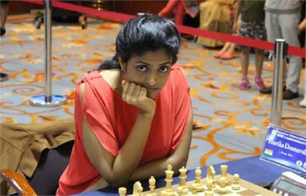 शतरंज टूर्नामैंट: तीसरे राउंड में हारीं हरिका