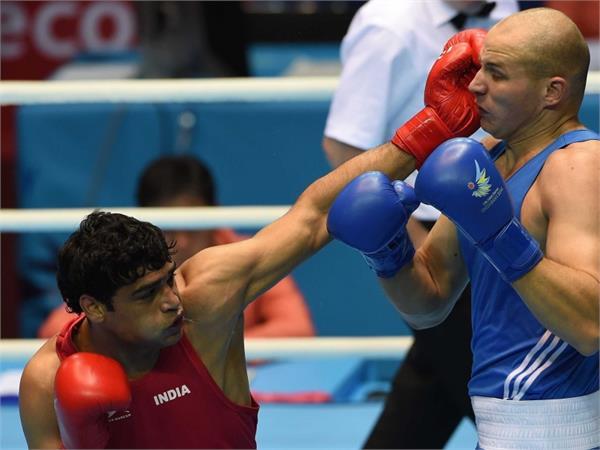 सतीश एशियाई मुक्केबाजी चैम्पियनशिप के क्वार्टर फाइनल में हारे