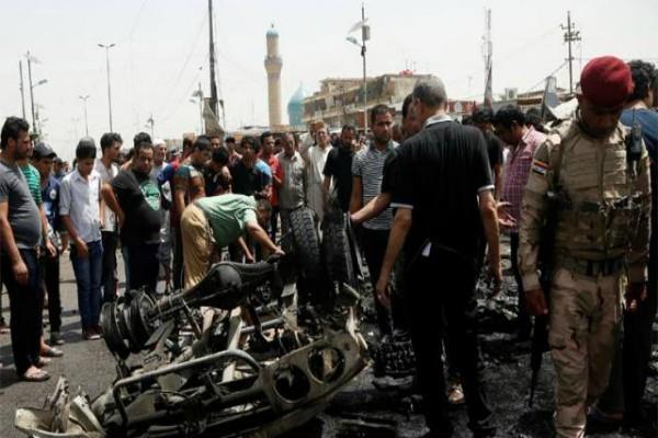 बगदाद में दो कारों में जोरदार धमाके,11 की मौत