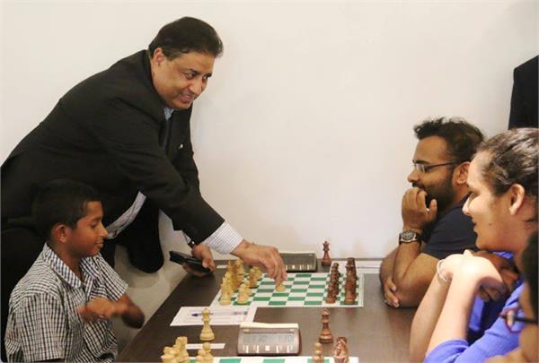 'चैस इन स्कूल' है सबसे बड़ा लक्ष्य - भारत सिंह चौहान