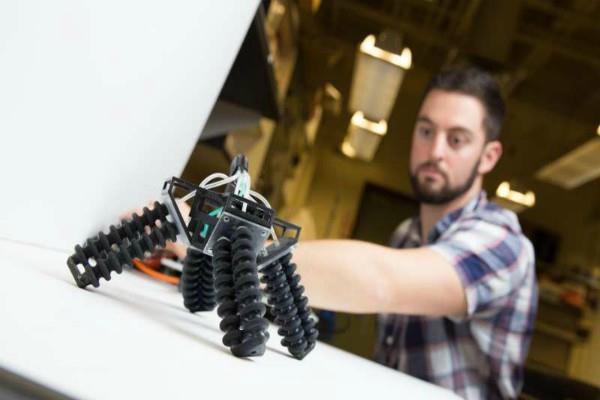 नया 3D प्रिंटेड रोबोट तैयार, रेत एवं पत्थरों को देगा मात