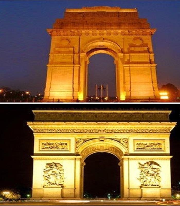 भारतीय जगहों से काफी मिलते-जुलते हैं,ये विदेशी Place