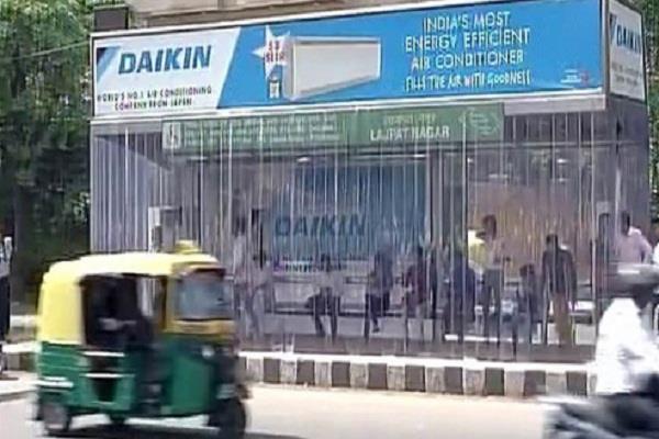 राजधानी दिल्ली को मिला पहला 'AC' बस स्टॉप