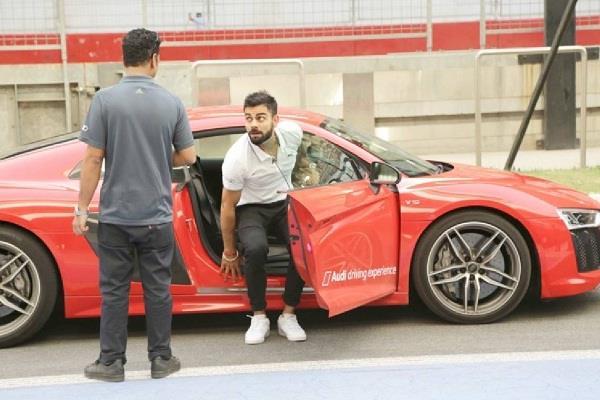 जब कोहली ने सड़क पर दौड़ाई 280kmph की रफ्तार से ऑडी, रिकॉर्ड तोडऩे से चूके