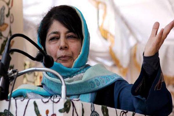 महबूबा की कश्मीर के लोगों से अपील: शांति सुनिश्चित करें और विकास में समान हिस्सेदार बने