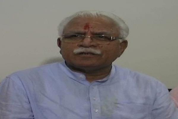 CM खट्टर का बड़ा बयान, दबाव बनाकर स्कूल अपग्रेड करवाना उचित नहीं