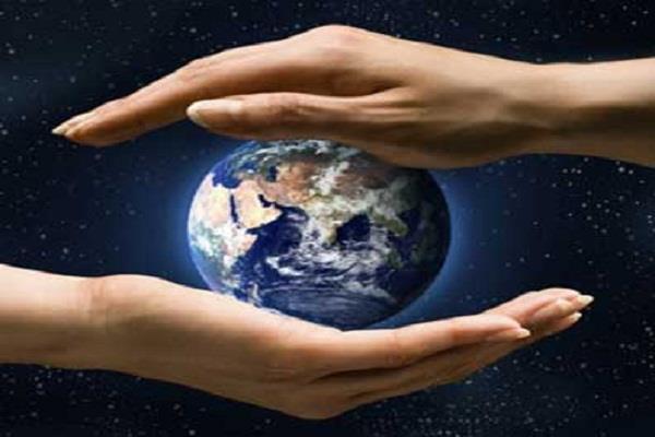 धरती को संभालना मनुष्य का सबसे बड़ा कर्तव्य