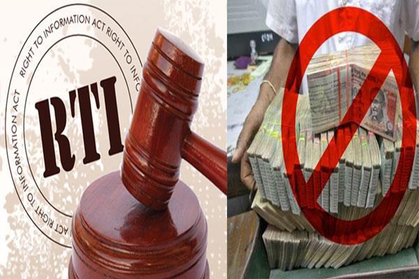 नोटबंदी पर RTI का जवाब देने से इनकार!