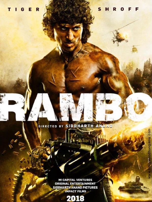 tiger shroff rambo hindi remake