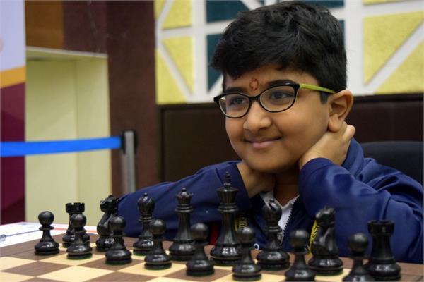 किट इंटरनेशनल शतरंज –10 साल के आदित्य नें ग्रांड मास्टर को हराया