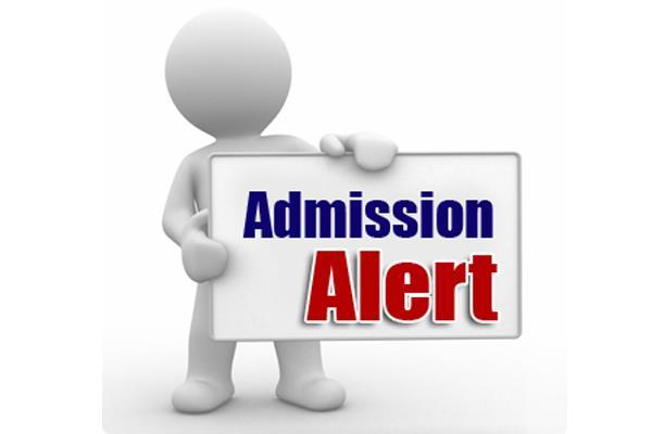 Admission:  फार्म जमा करवाने का आज अंतिम दिन