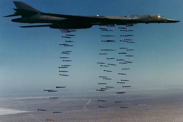 US सुपरसॉनिक बी-1बी लांसर बॉम्बर के साथ अभ्यास करेगी द. कोरियाई सेना