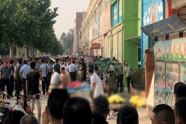 किंडरगार्टन विस्फोट के संदिग्ध को पुलिस ने निशाने पर लिया, मरने वालों की संख्या बढ़कर 8 हुई