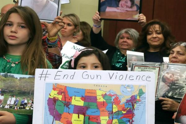 अमरीका में रोजाना गोलीबारी का शिकार होते हैं बच्चे