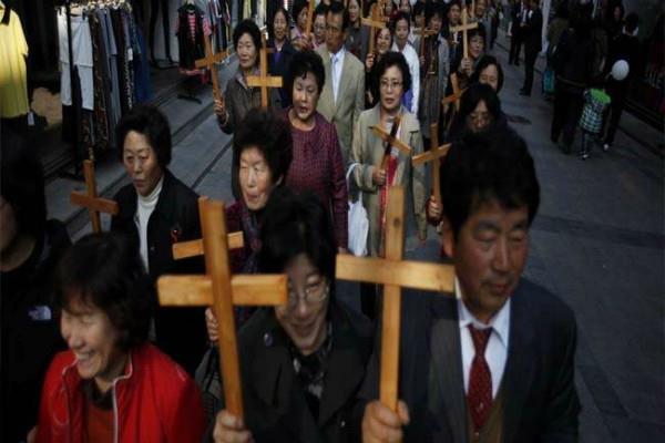 चीनी मीडिया ने दक्षिण कोरियाई ईसाई मिशनरियों पर लगाया ये आरोप