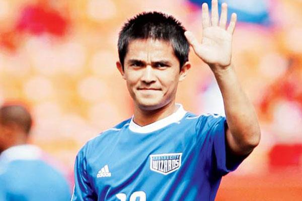 कप्तान सुनील छेत्री के गोल से जीता भारत