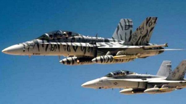 अमरीका ने मार गिराया सीरियाई आर्मी का जेट विमान