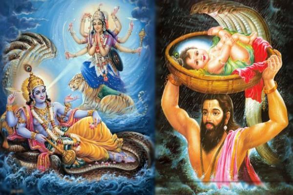 वसुदेव और देवकी जी के दुखों का अंत करने के लिए हुआ राम-श्याम का अवतार