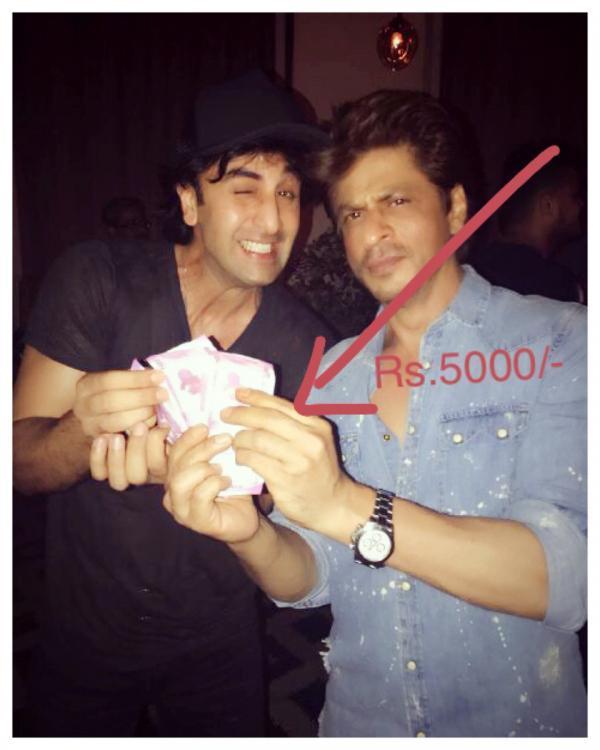 आखिर क्यों शाहरुख ने दी रणबीर को कैश प्राइज मनी