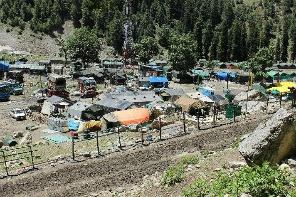 strict management of security at baltal base camp