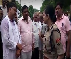 बुलंदशहर में BJP कार्यकर्त्ता की दबंगई, चेकिंग के दौरान महिला CO से की बदसलूकी