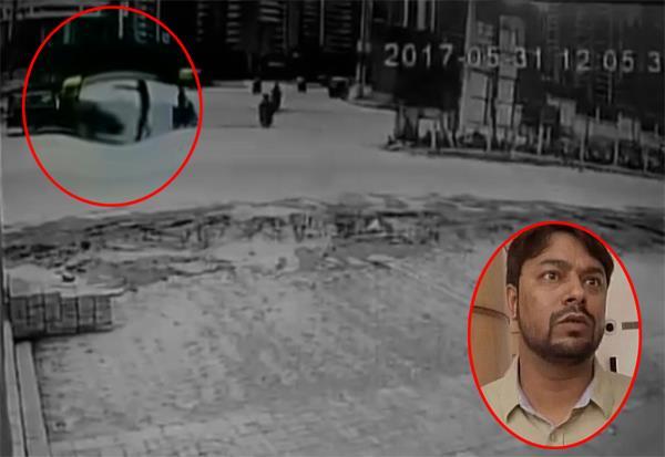 VIDEO: केजरीवाल के साढ़ू की शिकायत करने वाले पर जानलेवा हमला