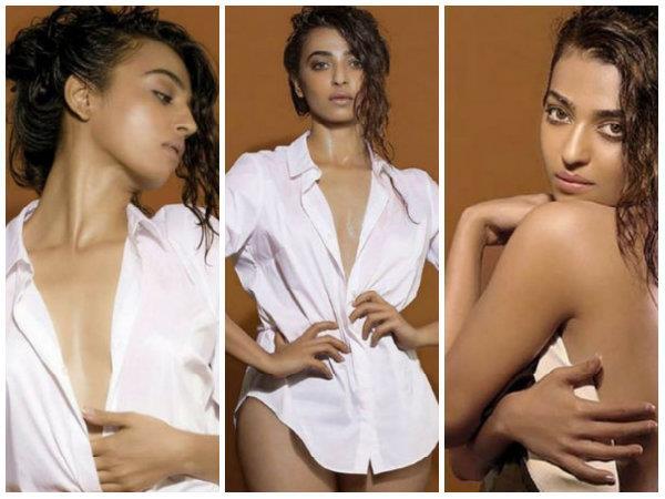 radhika wearing bikini showed her bold look