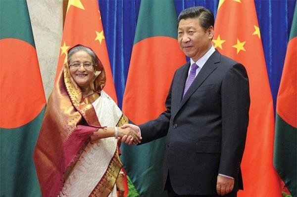बांग्लादेश को कर्ज के दलदल में फंसा सकता है चीन