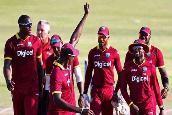 वेस्टइंडीज ने भारत के खिलाफ पहले दो वनडे मैच के लिए अपनी टीम की घोषणा की